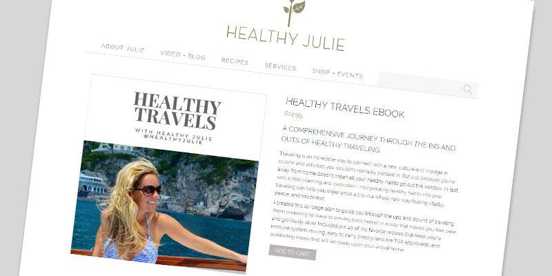 healthyjulie_2_webdesign