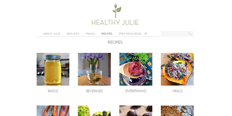 healthyjulie_5_webdesign